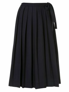 Antonio Marras pleated skirt - Blue