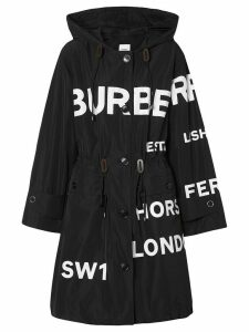 Burberry Horseferry print parka - Black