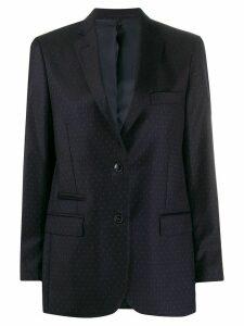 Officine Generale Charlene single-breasted blazer - Blue