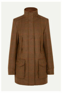 James Purdey & Sons - Checked Wool-tweed Coat - Brown