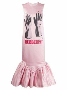 Christopher Kane Rubberist cupcake dress - Pink