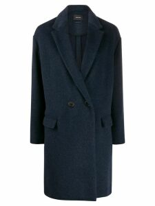 Isabel Marant button-front coat - Blue