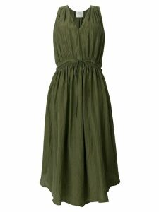 Forte Forte silk gathered dress - Green