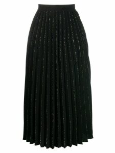 Sandro Paris pleated midi skirt - Black