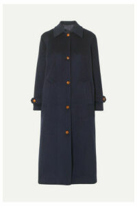 Giuliva Heritage Collection - Maria Wool And Cashmere-blend Felt Coat - Navy