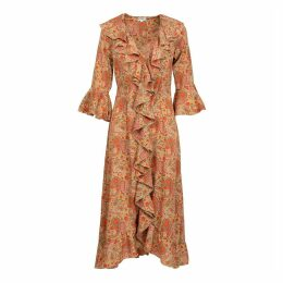 At Last. - Felicity Dress- Hot Paisley