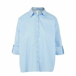 PAISIE - Oversized Soft Fur Teddy Bear Coat With Self Belt In Pink
