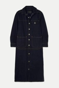 Holzweiler - Voien Denim Midi Dress - Dark denim