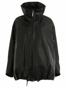 Isaac Sellam Experience leather padded coat - Black