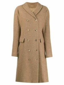 Nehera LONG BEIGE COAT - Brown