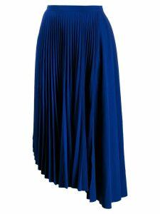 Markus Lupfer Maddie pleated skirt - Blue