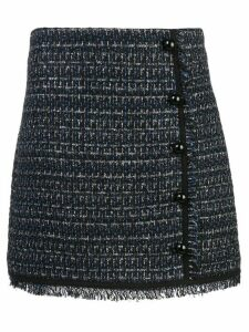 Veronica Beard Mirabelle tweed skirt - Blue