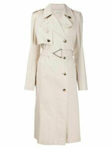 Bottega Veneta trench coat - NEUTRALS