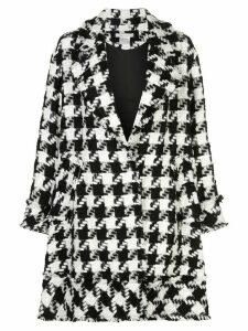 Alice+Olivia Stefan notched collar coat - Black