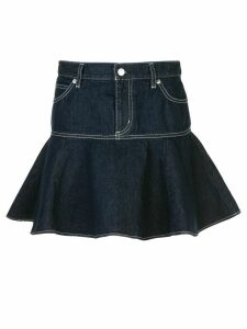 Opening Ceremony x Chloë Sevigny ruffled skirt - Blue