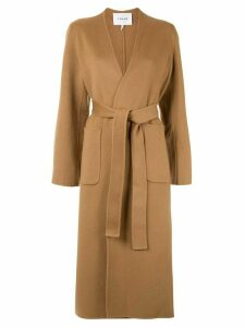 FRAME double faced bell coat - Brown