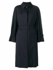 Paul Smith belted trench coat - Blue