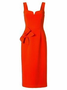 Rebecca Vallance Galerie bow-embellished dress - Red