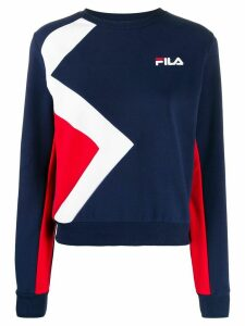 Fila colour block sweatshirt - Blue