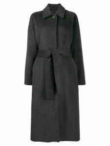 Filippa-K Montana oversized belted coat - Grey