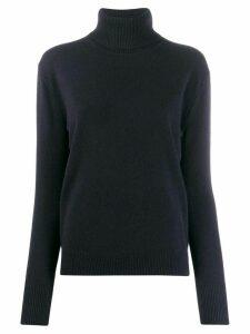 Filippa-K fine knit roll neck jumper - Blue