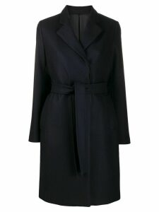 Filippa-K Eden mid-length belted coat - Blue