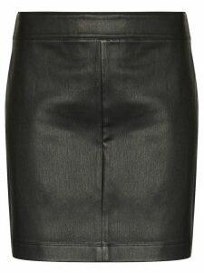Helmut Lang high-waist mini skirt - Black
