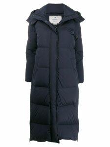 Woolrich long padded coat - Blue