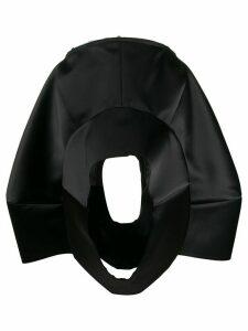 Comme Des Garçons oversize deconstructed skirt - Black