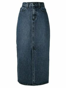Nobody Denim Avery midi denim skirt - Blue
