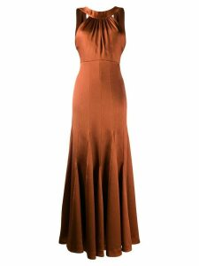 Three Floor Runaway dress - Brown