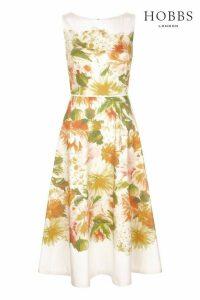 Womens Hobbs White Dahlia Dress -  White