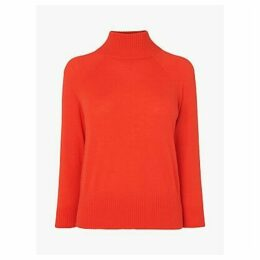 L.K.Bennett Brett Funnel Neck Wool Jumper