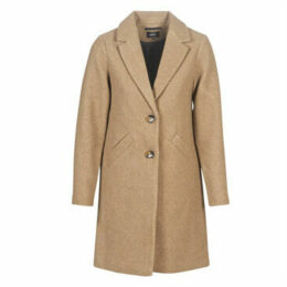 Only  ONLVERONICA  women's Coat in Brown