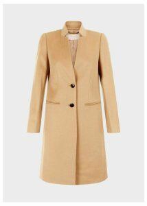 Tilda Wool Revere Coat Camel