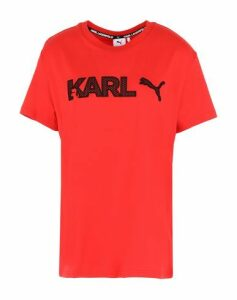 PUMA x KARL LAGERFELD TOPWEAR T-shirts Women on YOOX.COM