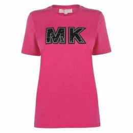 MICHAEL Michael Kors Logo Patch T Shirt