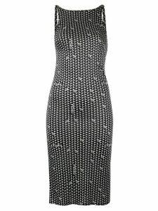 Fendi Pre-Owned geometric print dress - Black
