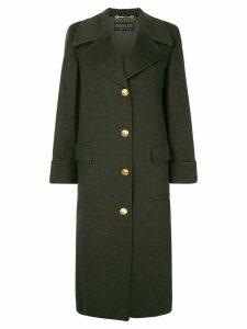 Gucci Pre-Owned cashmere midi coat - Grey