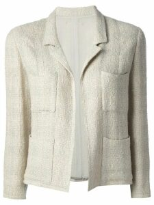 Chanel Pre-Owned jacket and skirt tweed suit - NEUTRALS
