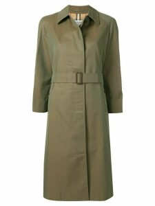 Burberry Pre-Owned belted trench coat - Green