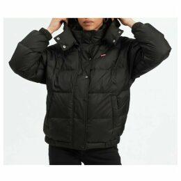 Short Hooded Padded Jacket