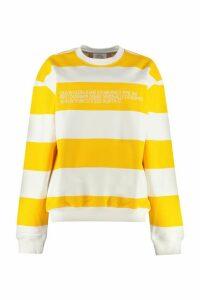 Calvin Klein Jeans Striped Cotton Sweatshirt