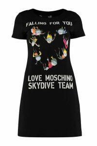 Love Moschino Jersey Mini Dress
