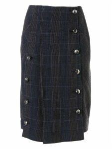 Chloé Checked Mid-length Skirt