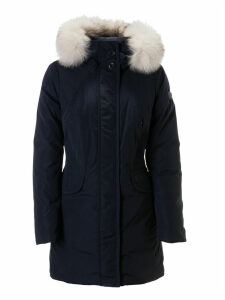 Peuterey Fitted Waist Furred Hood Parka