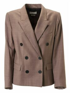 Isabel Marant Double Breasted Buttoned Blazer