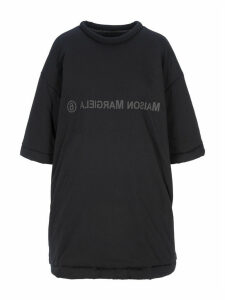 Mm6 Padded T-shirt Style Dress