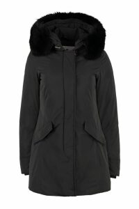 Woolrich Luxury Arctic Parka With Fur Trimmed Hood