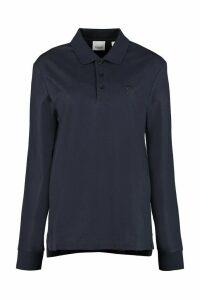 Burberry Cotton Piqué Polo Shirt
